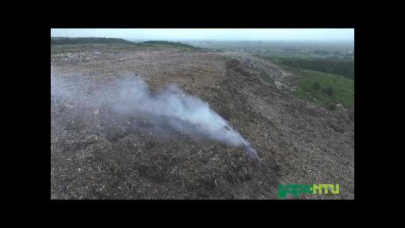 Грибовицьке сміттєзвалище Загроза зсуву 02 06 16