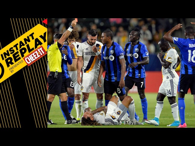 Instant Replay: Did LA's Jermaine Jones embellish?