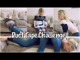 Identical Twins - The Duct Tape Challenge | TwinnyTwinLife