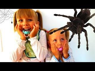 Bad Baby  ВРЕДНЫЕ ДЕТКИ #5 Вредные Малышки и НАПАДЕНИЕ МЕГА ПАУКА и ЗМЕИ Snakes Attack Spi...