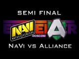 NaVi vs Alliance Semi Final Epicenter 2017 EU Highlights Dota 2