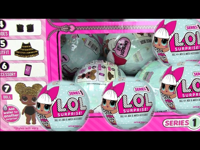 Видео для Детей. Сюрприз Игрушки. Игрушки Куклы. LOL BABY SURPRISE DOLLS Игрушки Меняющие Цвет