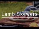 Grilled Lamb Kabob Skewers