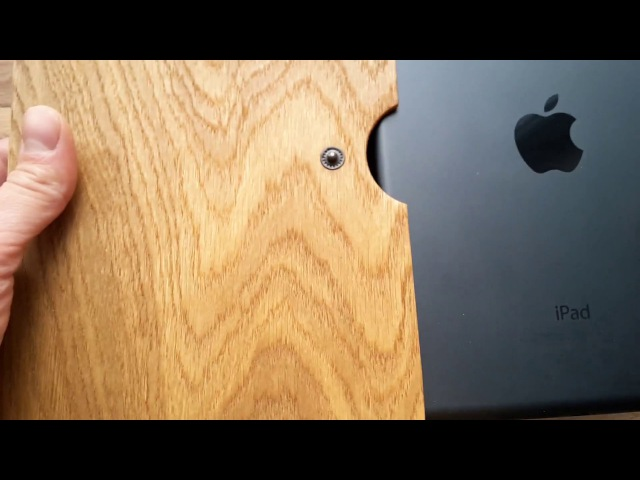 Wooden case for iPad air 2, pro 9.7, mini Деревянный чехол