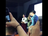Джиджи на презентации новой коллекции «TOMMYxGIGI» в Шанхае, 14 октября.