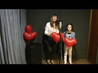 Влада и Ярослава в подарок ДМИТРИЮ на ДР 23.02.17 #ES_Music_Studio