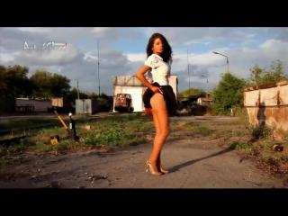 Russian sexy legs - 5 (эротика, стриптиз, фут-фетиш, ножки, нейлон, 18+)