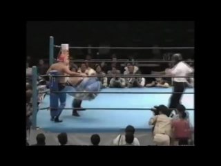 NJPW Tiger Mask Legends TagTeam Match (1996)