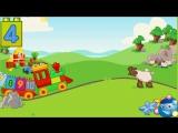 Лего (LEGO DUPLO). Мультик про паровозик «Поезд с цифрами». Учим цифры с паровозиком Лего. (1)