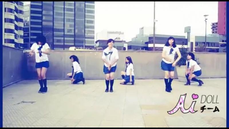 【Ai Doll Team】 NMB48 - kamonegix / Zetsumetsu kurokami Shojo 踊ってみた