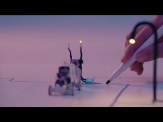 Волшебная ручка для освещения бумажного города