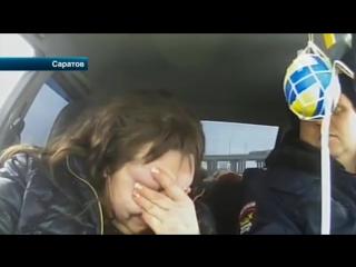 В Саратове полицейские бросились в погоню за нетрезвой дамой на отечественной ле