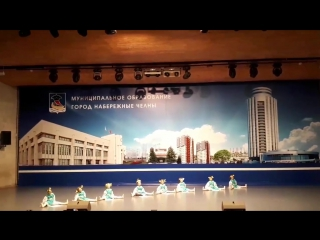 Конкурс Танцевальная карусель 2017, д/с 21 Радость, танец Платочки