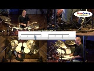 16 Single Paradiddle - Использование Рудимента для Сбивок (пример №3)