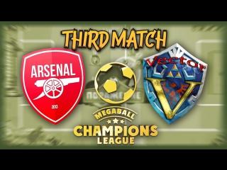 Arsenal-Vector . MCL. Premier League. Season 4. Play-Off 1/2 (3 матч серии)