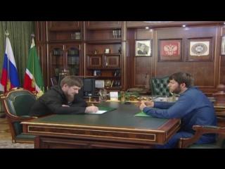 Сегодня провел встречу с Председателем Правительства ЧР Абубакаром Эдельгериевым
