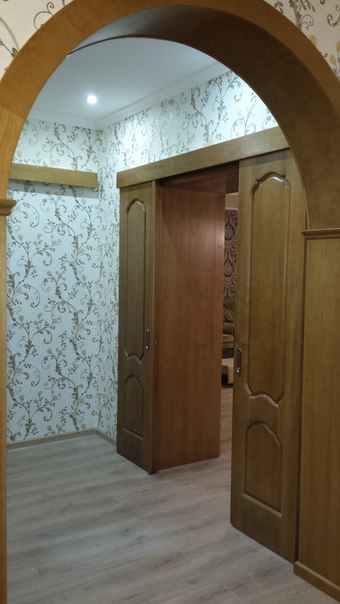 Коттедж царское село- ремонт в коридоре