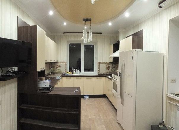 Коттедж царское село- ремонт в кухне