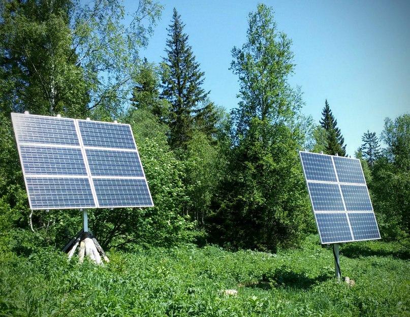 Таганай. Солнечные баттареи - единственный источник электричества в приютах Таганая