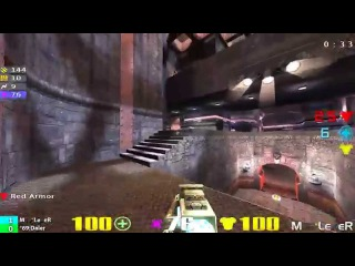 QuakeCon 2002 Grand Final: LeXeR vs Daler - (Commentary) Quake3 Duel Tournament dm6 4k 1080p