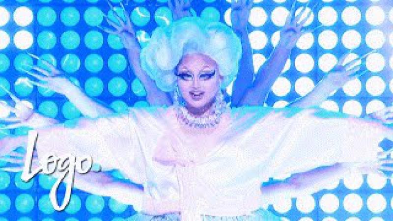 RuPaul's Drag Race Season 8 Finale Kim Chi's 'Fat Fem Asian' Performance Logo