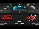 LGD vs. CDEC.Y - Game 1, Play-Off @ NYC 2, Dota 2