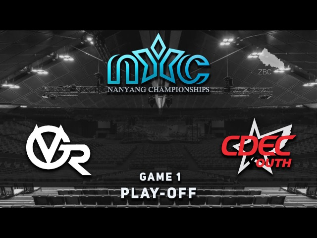 VG.R vs. CDEC.Y - Game 1, Play-Off @ NYC 2, Dota 2