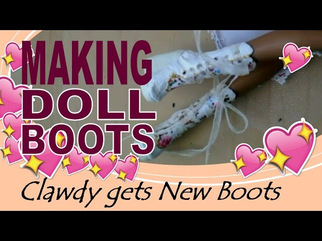 DIY - Making Irregular Choice inspired Doll Boots - Monster High