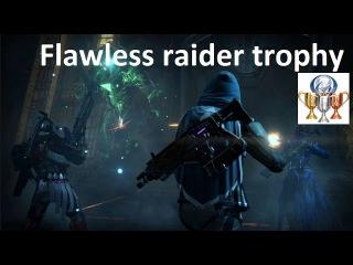 Destiny Crota's End Raid solo Без смертей или Flawless raider trophy