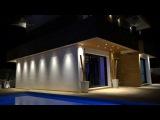 Современный дом - вилла в Ла Нусия, Испания, Коста Бланка. Новый дом в стиле минимализм в Испании
