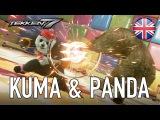 Tekken 7 - PS4/XB1/PC - Kuma & Panda (Characters announcement trailers)