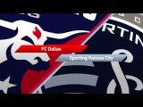 Highlights  FC Dallas vs. Sporting Kansas City  April 22, 2017