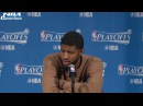 Paul George Postgame Interview | Cavaliers vs Pacers | Game 4 | April 23, 2017 | NBA Playoffs