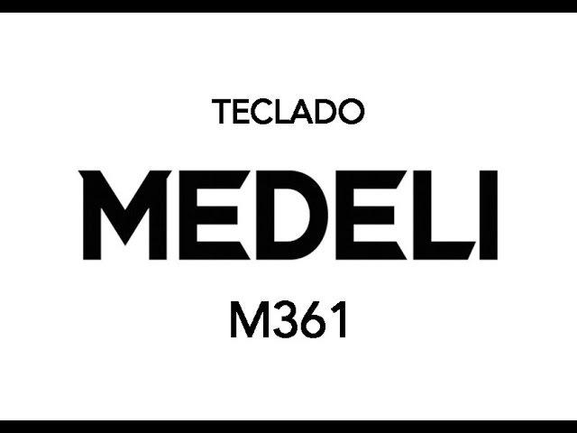 Teclado MEDELI M361 Informe de Producto