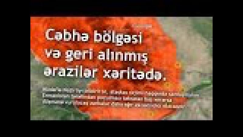 QARABAĞdan qaytardığımız ərazilər. Talış, Füzuli, Lələ Təpə, Seysulan, Horadiz.Müdafiə naziri
