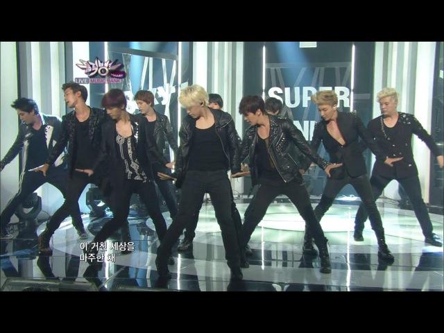 Super Junior 슈퍼주니어_Sexy, Free Single_KBS MUSIC BANK_2012.07.13