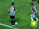 Drible do Neymar em cima do Diguinho Fluminense 3 x 2 Santos 2011