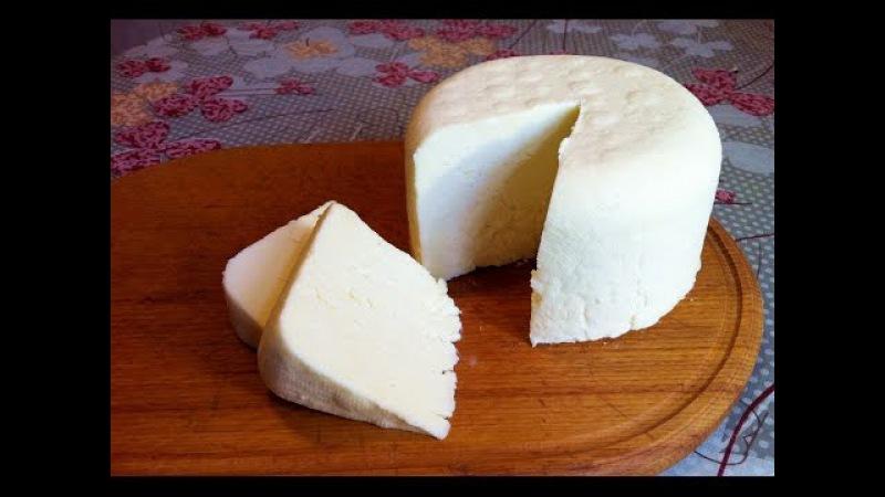 Домашний Сыр из Молока (Очень Вкусный) Cottage Cheese From Milk Простой Пошаговый Рецепт