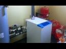 Отопление видео №1 Газовый напольный котел Термона Система отопления Топочная Обвязка котла