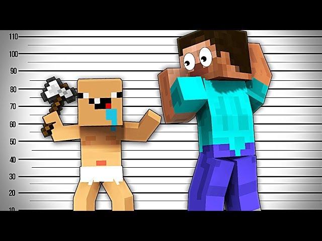 КТО ТВОЙ ПАПОЧКА?- Майнкрафт Рэп Клип | Minecraft Parody Song of Florida's My House