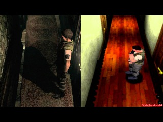 Resident Evil HD Remaster Vs Resident Evil Playstation 1 Graphics Comparison