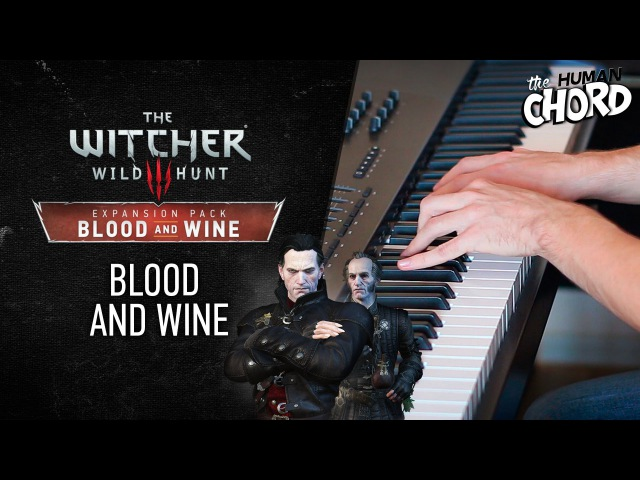 Witcher 3 - Blood and wine (Piano cover Sheet music)