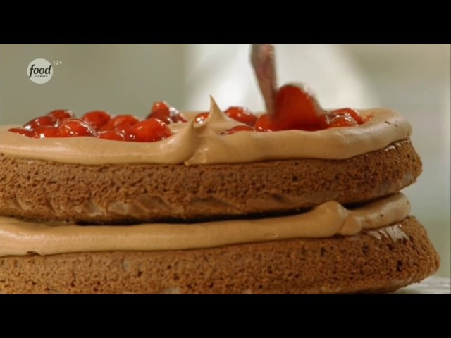 Анна Олсон: секреты выпечки - часть 55 - Бисквит