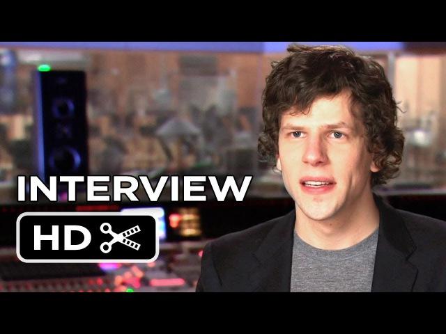 Rio 2 Interview - Jesse Eisenberg (2014) - Animated Sequel Movie HD