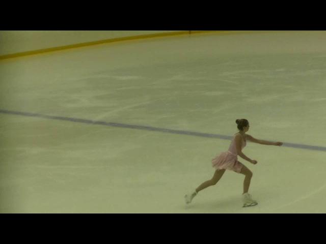Диана Супряга, КМС, 1 этап Кубка России, FS