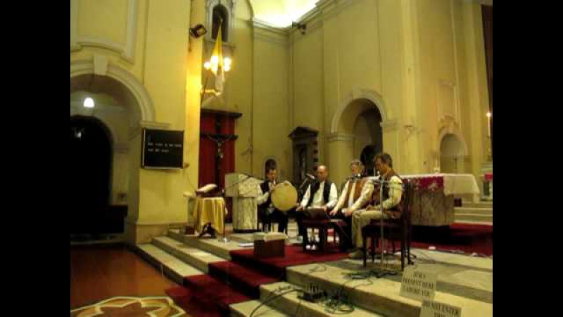 David Hykes and the Harmonic Choir @ Sacred Heart Cathedral New Delhi INDIA.MOV