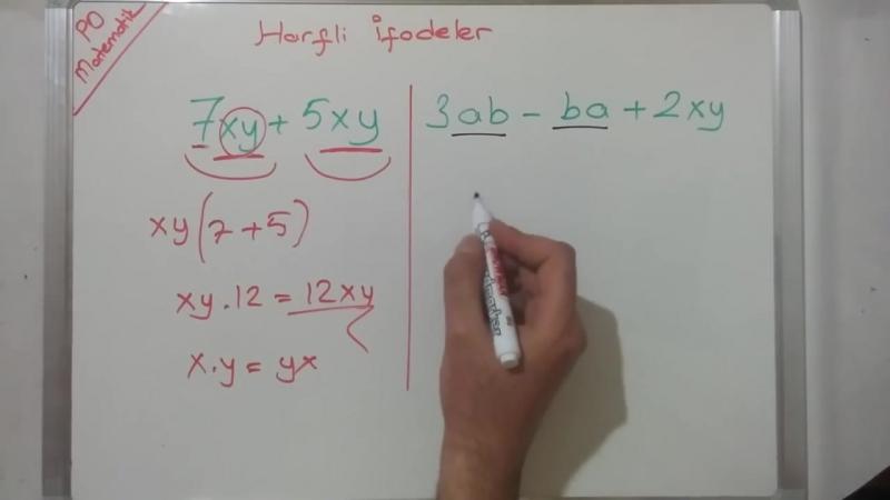 8. Sınıf Harfli İfadeler Konu Anlatımı (TEOG 2. Sınav)