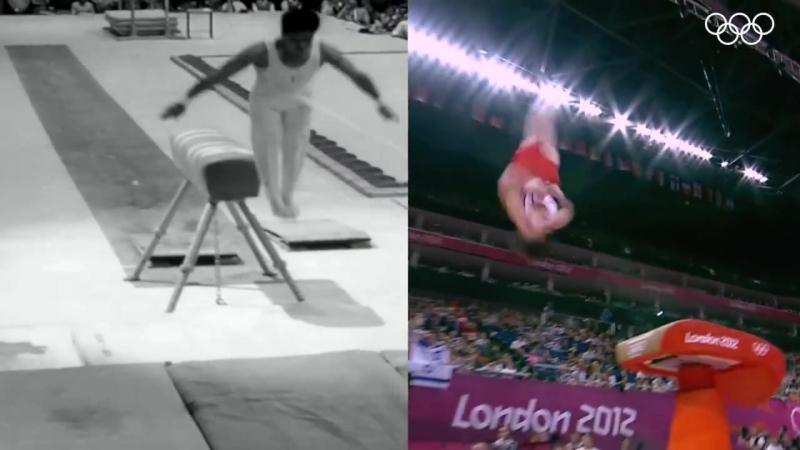 Мужская художественная гимнастика. Тогда и сейчас.
