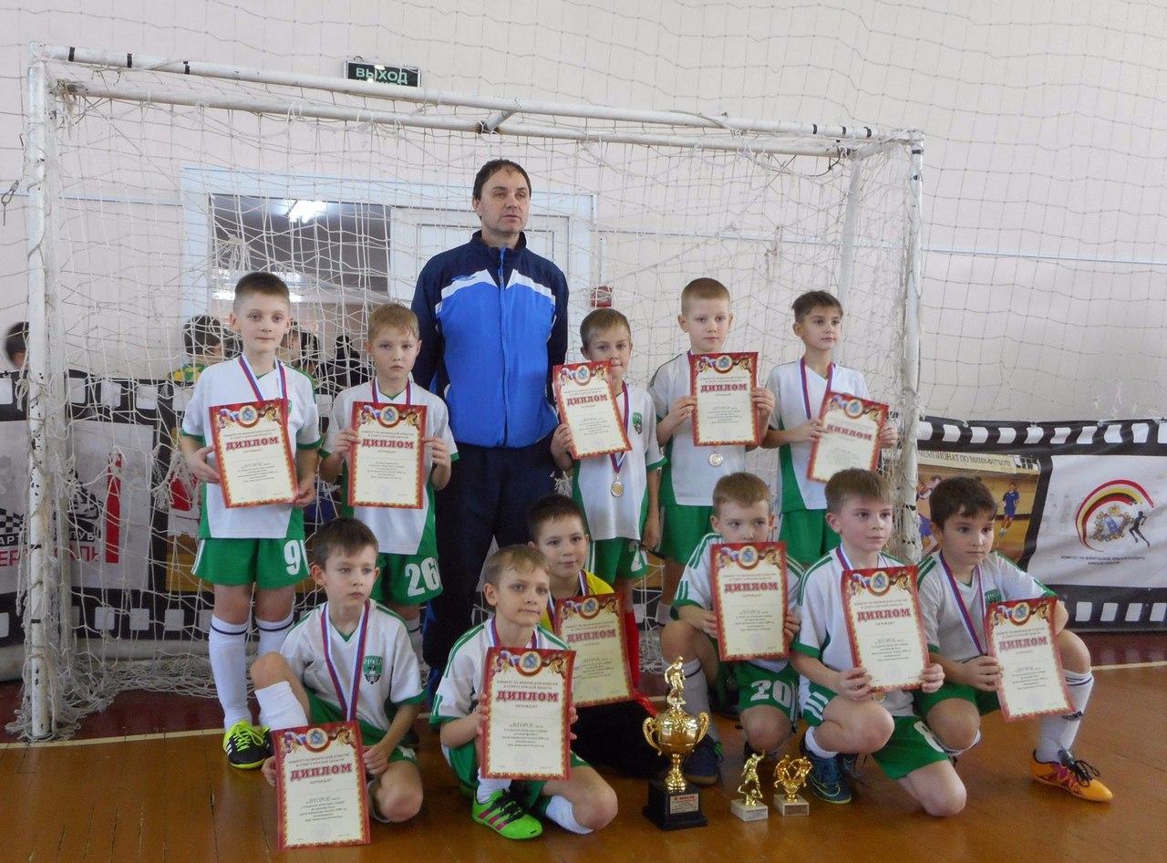 Юные орловские футболисты завоевали серебро в Курске