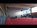 Танец индийский на спортивной гимнастике.